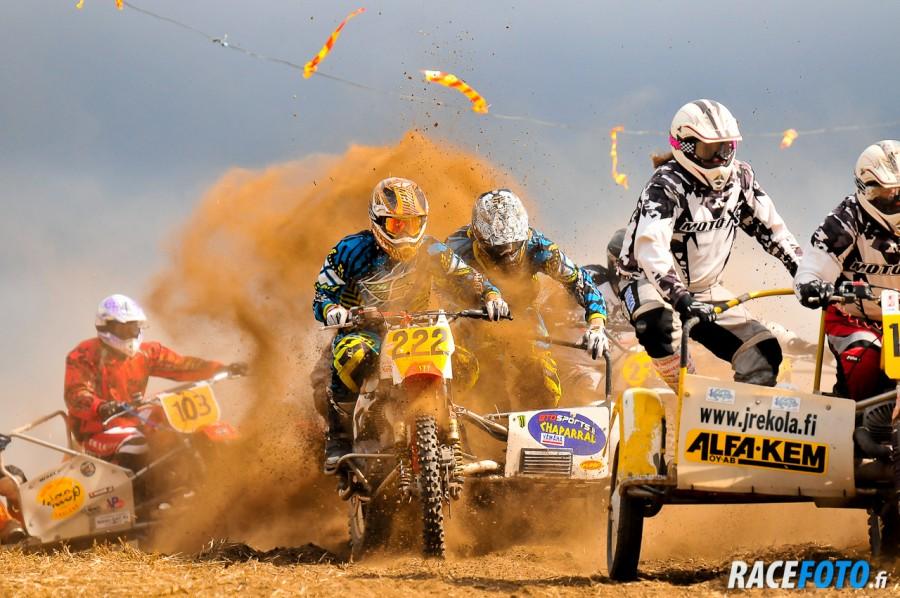 Classic Motocross 2011 Auttoinen, sivuvaunut,  Hirvonen Santeri ja Jalonen Eetu