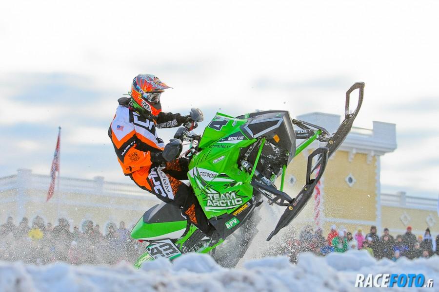 Tuuri Snowcross WC 2013, Finland GP, Christian Logan, USA